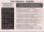 LIFT'93 Daily Dialogues Programme