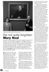 English Dance & Song article by Lucy Neal 'The Not Quite Forgotten Mary Neal'