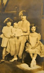 Florrie Warren and her Three Children