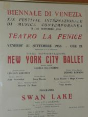 New York City Ballet poster - Vida
