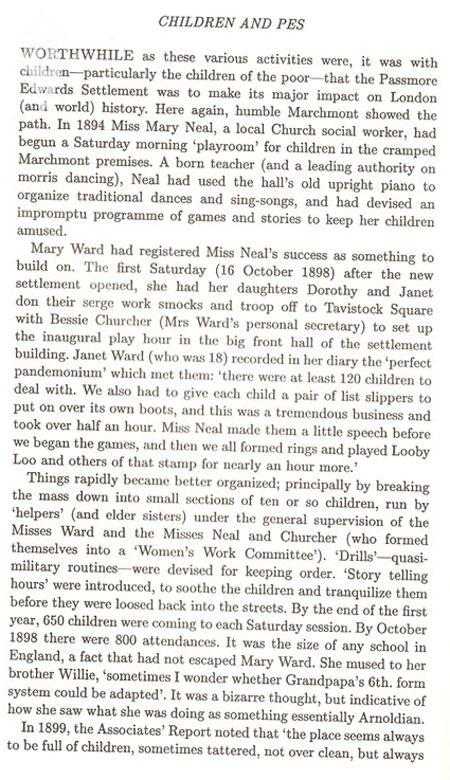 Extract from the Mary Ward house book