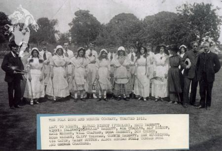 The Folk Song and Morris company, Thaxted 1911