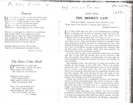 The 'Broken Law' article